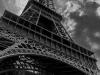 Eiffel Tower 2 BW