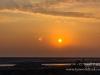Sunset over Mont St Michel